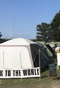 GB8EMF station at EMF Camp