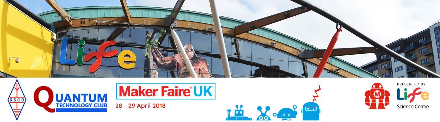 G7LFC @ Maker Faire UK