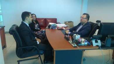 Foto de Diretor de Comunicação da Alema discute comunicação com a DPE-MA