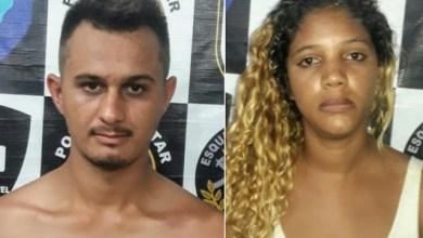 Foto de Traficante e comparsa são presos