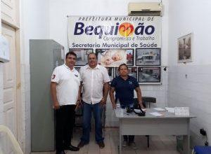 Foto de Mutirão do Glaucoma em Bequimão-MA