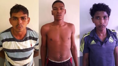 Foto de Polícia prende três meninos do bem