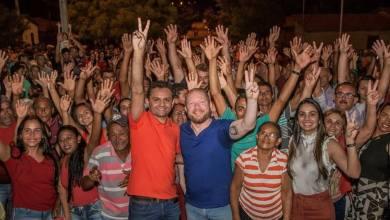 Foto de São Félix de Balsas recebe Othelino Neto com carreata