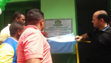 Photo of Prefeito Anderson inaugura UBS em Peroba de Cima