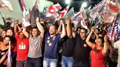 Photo of Othelino faz campanha em Mirinzal, Paulino Neves e Magalhães de Almeida