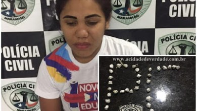 Foto de Professora vendia drogas dentro de Escola no Maranhão