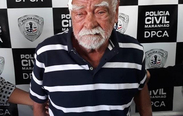 Preso idoso acusado de estuprar criança de 7 anos no MA