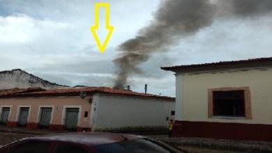 Photo of Incêndio destrói Casa do Divino na cidade de Alcântara-MA