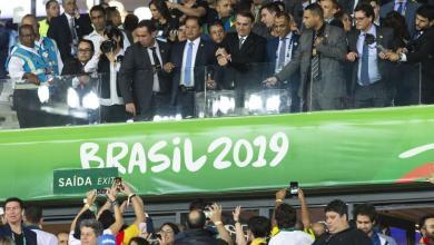Foto de Bolsonaro gastou só R$ 201.600 para ver três jogos do Brasil na Copa América