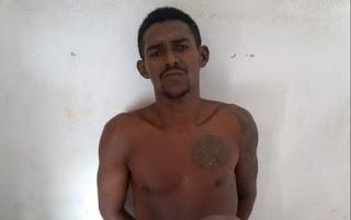 Foto de Foragido de Justiça foi preso em Bequimão-MA