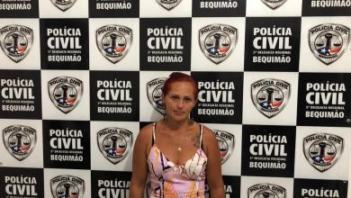 Foto de Golpista é presa em Bequimão-MA