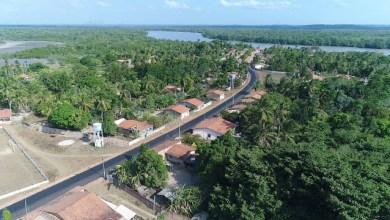 Foto de Pavimentação asfáltica é iniciada no povoado Paricatíua