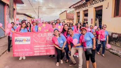 Foto de Prefeitura de Bequimão encerra campanha Outubro Rosa