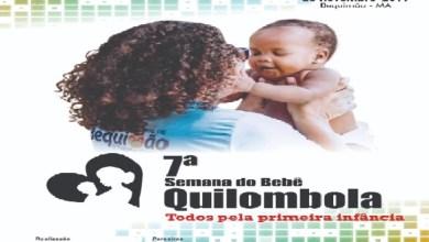 Photo of Abertura da VII Semana do Bebê Quilombola será nesta segunda (25) em Juraraitá