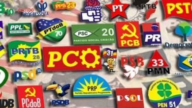Foto de Cai o número de filiados a partidos políticos