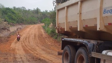 Foto de Prefeitura de Bequimão recupera estradas vicinais na zona rural
