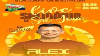 Foto de O cantor Alex Júnior realizará LIVE de São João nesta sexta-feira (26), às 18h, pelo YouTube