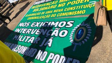 Photo of Manifestações bolsonaristas defendem intervenção militar