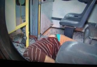 Foto de Homem é morto à bala dentro do ônibus Bequimão/Ipase em São Luís-MA