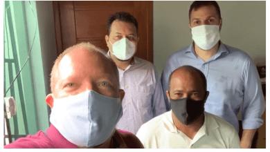 Foto de Secretários estaduais declaram apoio à pré-candidatura de Heliezer em Peri-Mirim
