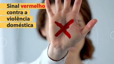"""Foto de Prefeitura de Alcântara lança campanha """"Sinal Vermelho"""" contra Violência Doméstica"""