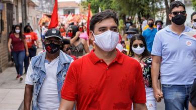 Foto de Militâncias do PCdoB e PT mostram a força da candidatura de Rubens