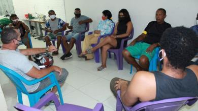 Foto de Vereadora Fátima Araújo participa de reuniões em São Luís