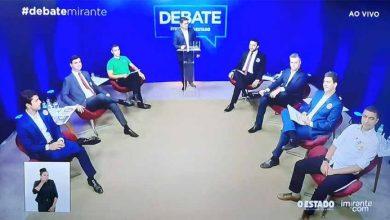 Foto de Rubens Jr vence debate da Mirante nas redes sociais