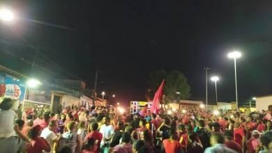 Foto de População de Bequimão vai às ruas em apoio à candidatura de João Martins