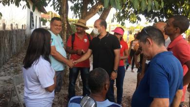Foto de ALCÂNTARA-MA: Candidato Anderson Wilker recebe apoio durante visita na zona rural
