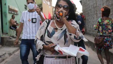 Foto de Fátima Araújo mantém agenda de campanha nos bairros