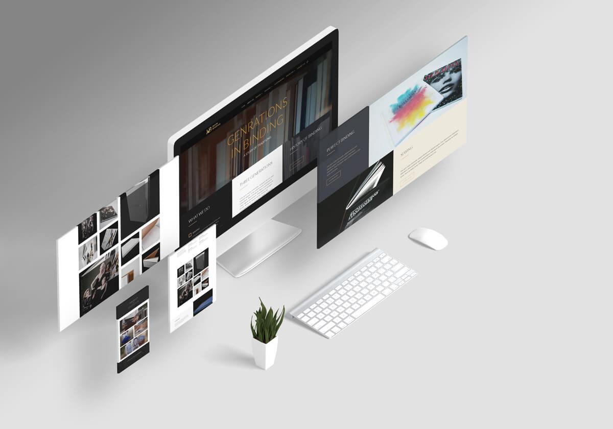 nb book binding web design mockup g7 studios 1200xl