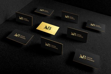 nb bookbinding business card branding design g7 studios