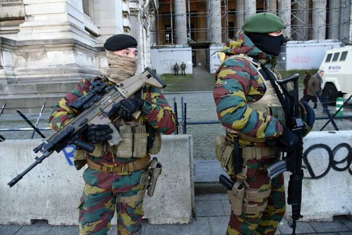Belgian Army Under Fire For Plans To Cater To Homesick
