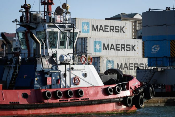 Danish shipping behemoth Maersk was crippled by a 2017 malware attack | Leon Neal/Getty Images