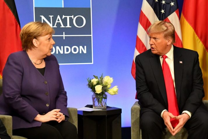 Trump is not the cause of cooling EU-US ties, says Merkel – POLITICO