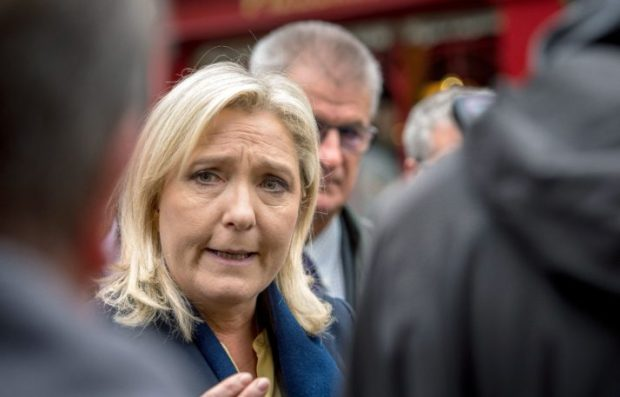 Head of the Front National Marine Le Pen