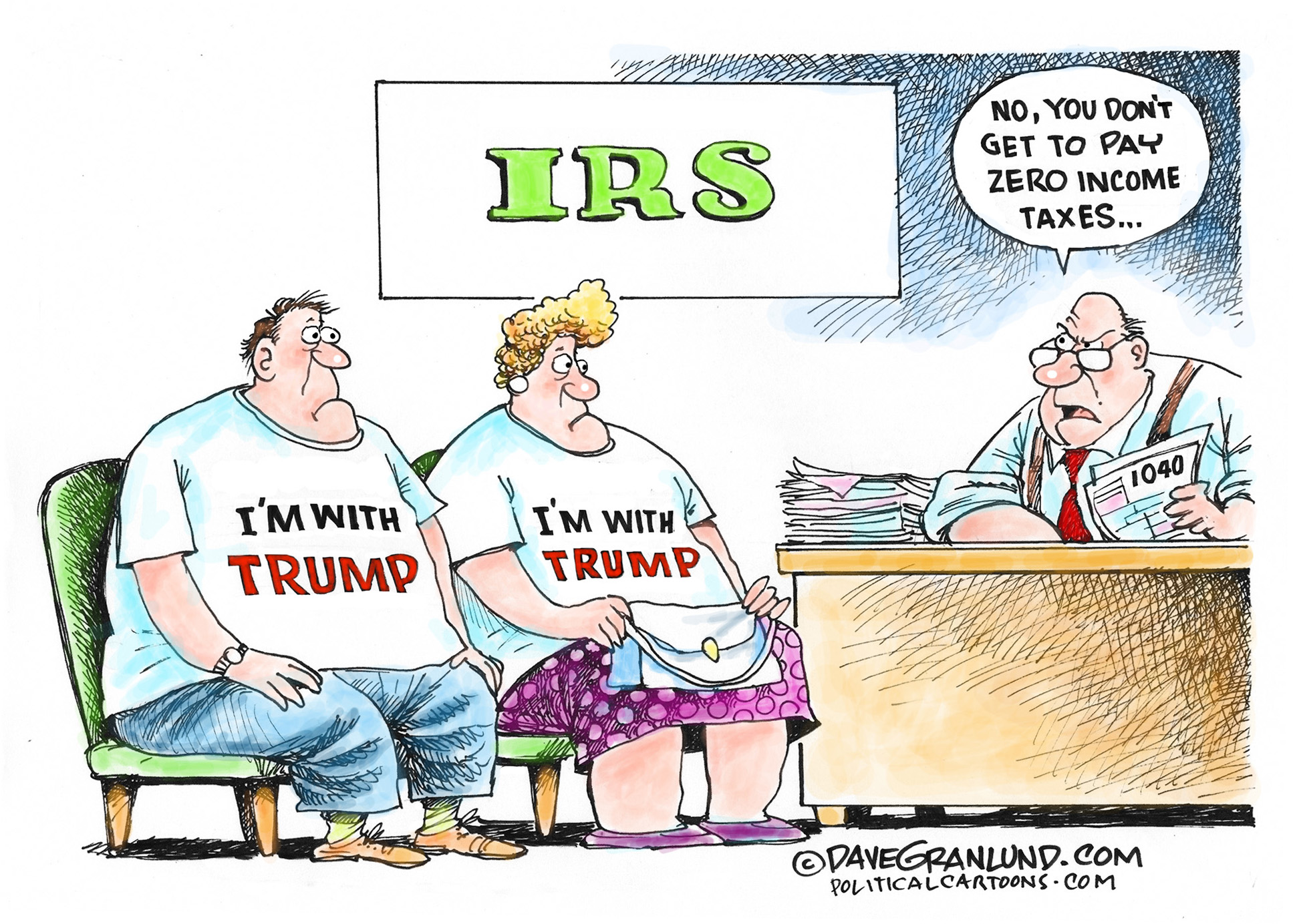 Image result for cartoons trump tax plan