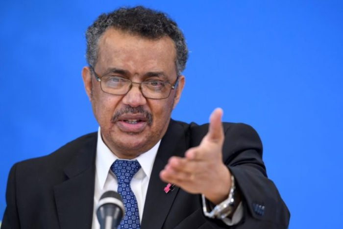 Candidate for the WHO director general position Tedros Adhanom Ghebreyesus | Fabrice Coffrini/AFP via Getty Images