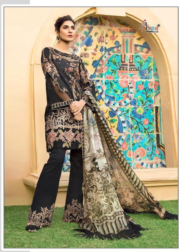 SHREE FABS S 1349 WITH COTTON DUPATTA
