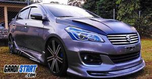 Modification of Maruti Suzuki Ciaz