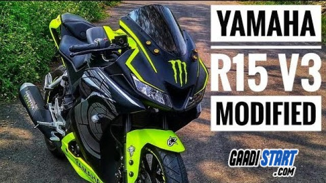 Yamaha R15 V3 Modification