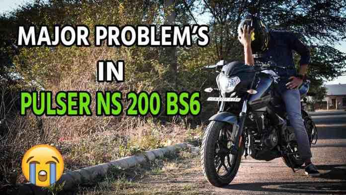 pulser ns200 problems