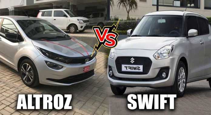 SWIFT VS ALTROZ