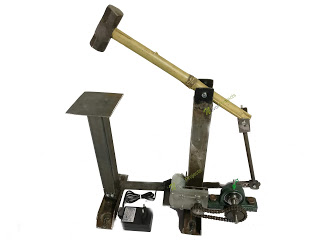automatic portable hammering machine