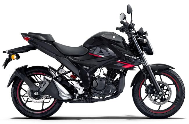 gixxer 150 bs6 black