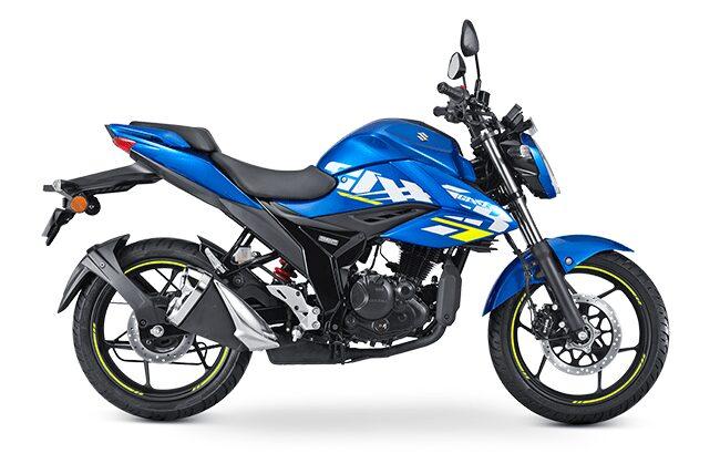 gixxer 150 bs6 blue