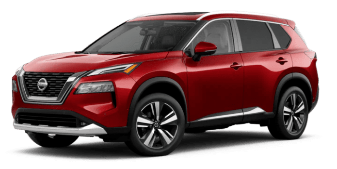 nissan rogue red colour 1