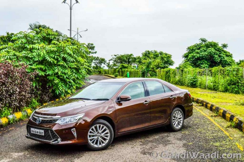 all new camry hybrid review harga grand avanza veloz 2015 toyota test drive india ride