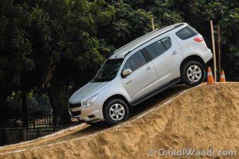 Chevrolet Trailblazer in India-16